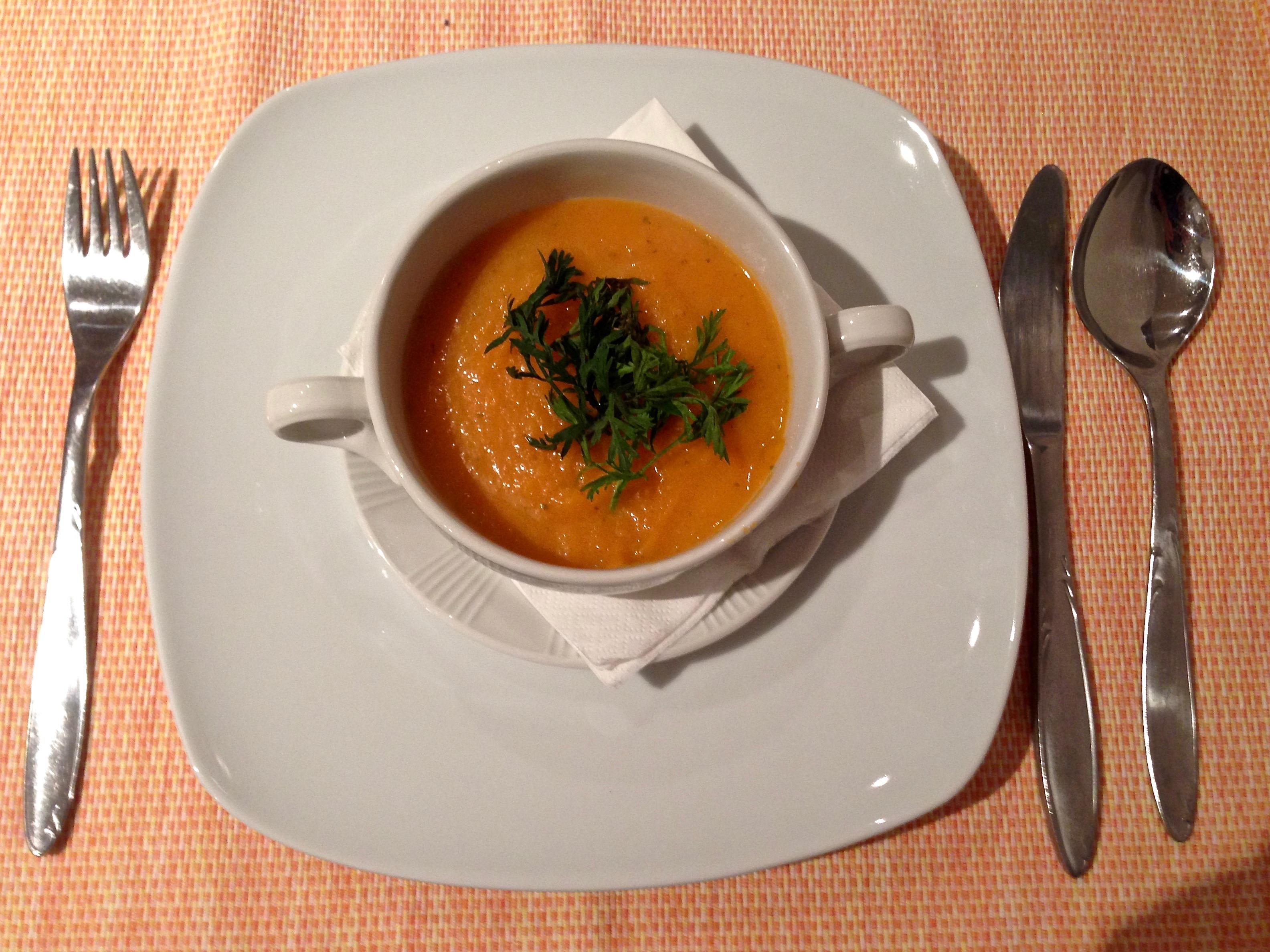 Karotten-Ingwer Suppe
